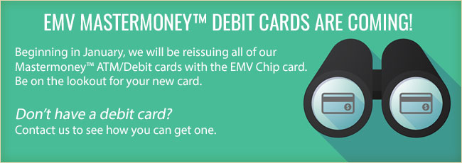 EMV Mastermoney debit cards are coming