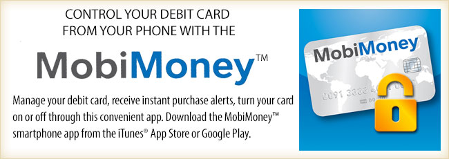 Control your debit card from your phone with mobimoney